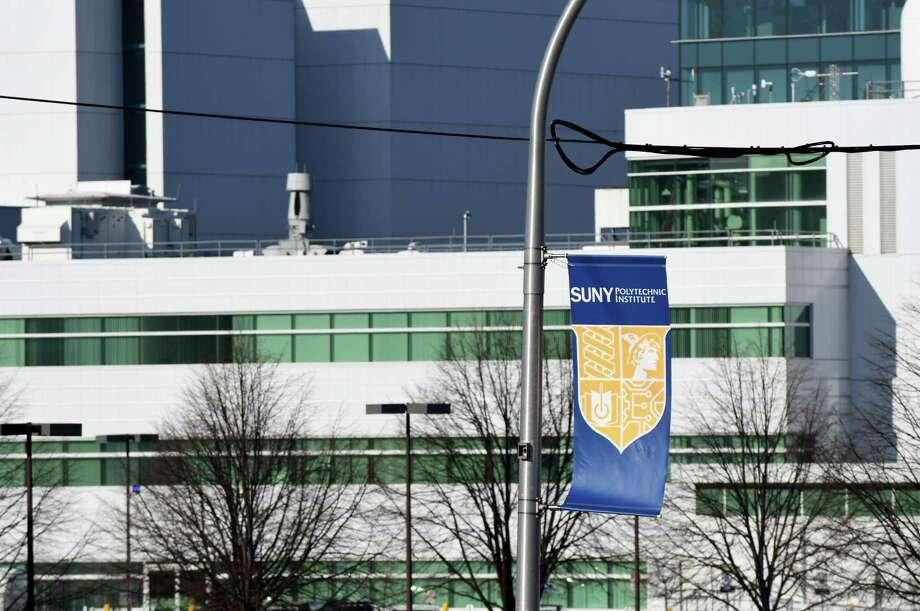View of the SUNY Polytechnic Institute campus from Fuller Rd. on Monday, Jan. 16, 2017, in Albany, N.Y. (Will Waldron/Times Union) Photo: Will Waldron / 20039452A