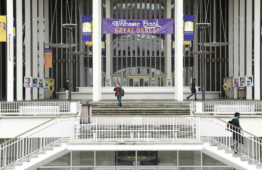 The University at Albany has 1,974 international students in the 2015-16 academic years, according to the Institute of International Education.  (Lori Van Buren / Times Union) , Photo: Lori Van Buren / 20039605A