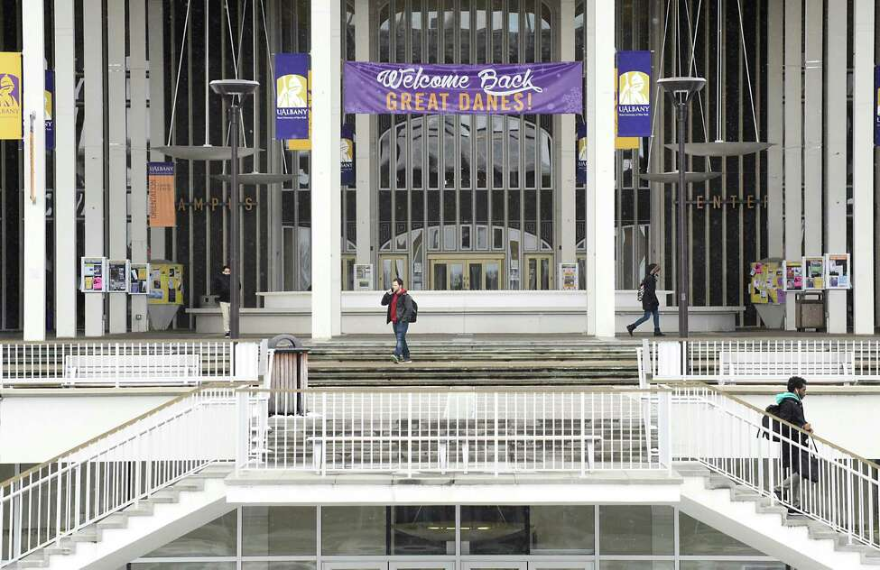 The University at Albany had 1,974 international students in the 2015-16 academic years, according to the Institute of International Education.  In 2019, UAlbany had 1,424 international students.(Lori Van Buren / Times Union)