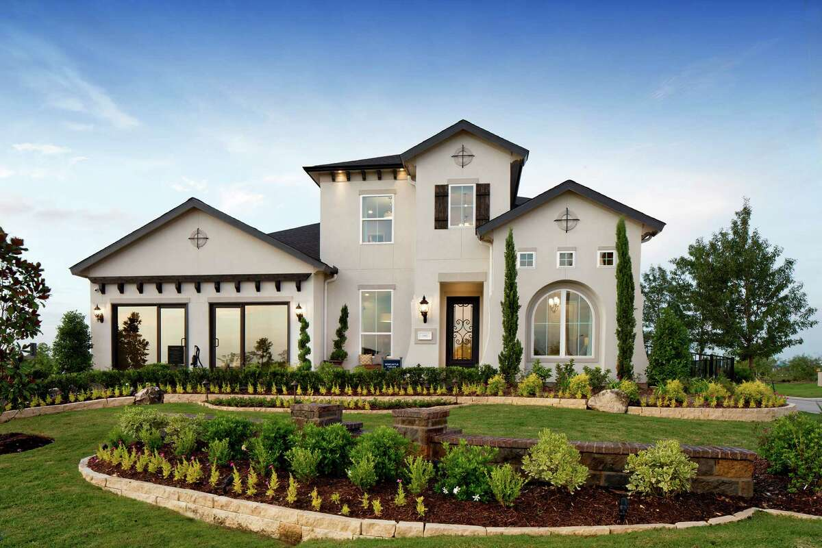 The Newcastle Tuscan home design will be available at Cinco Ranch.