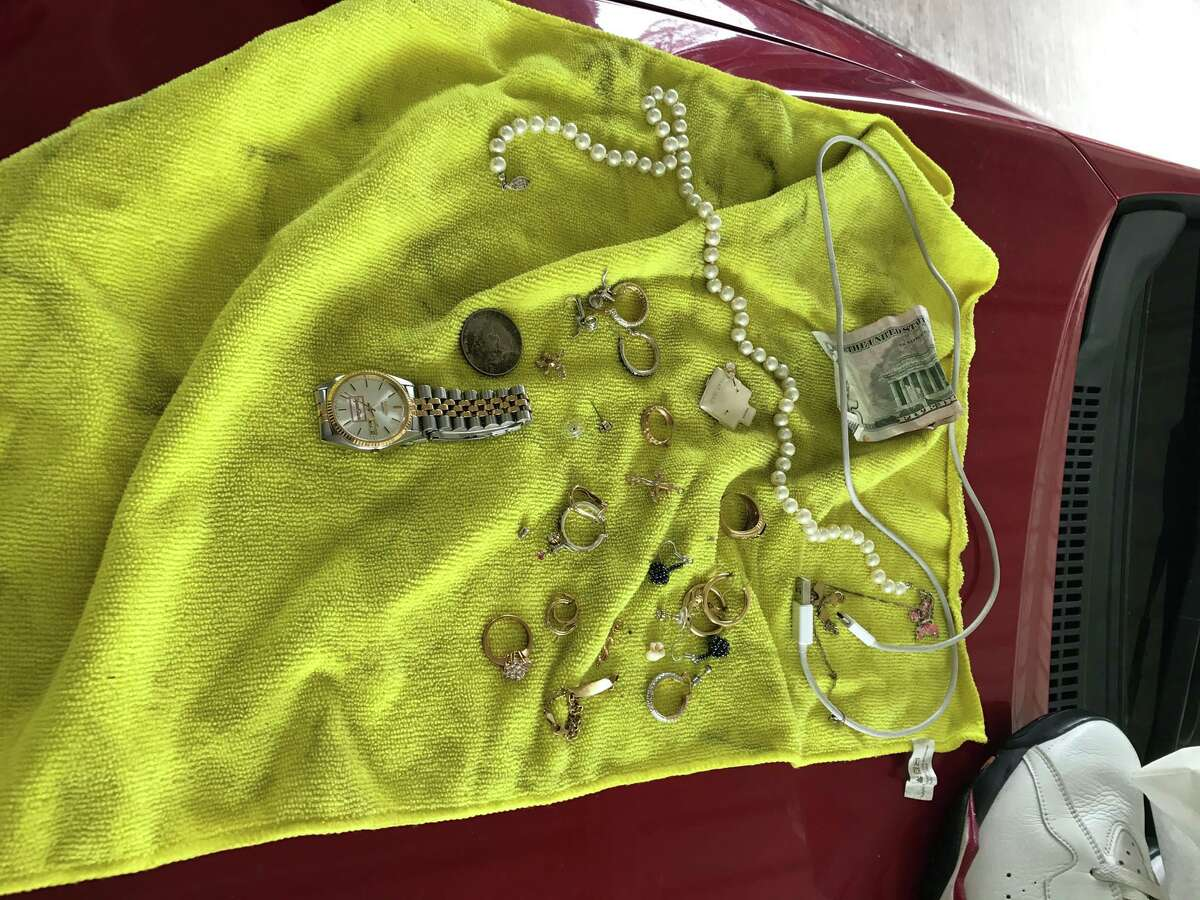 Personal property recovered during a home burglary investigation in Houston on Jan. 27 as part of a Pasadena investigation into a rash of similar crimes.