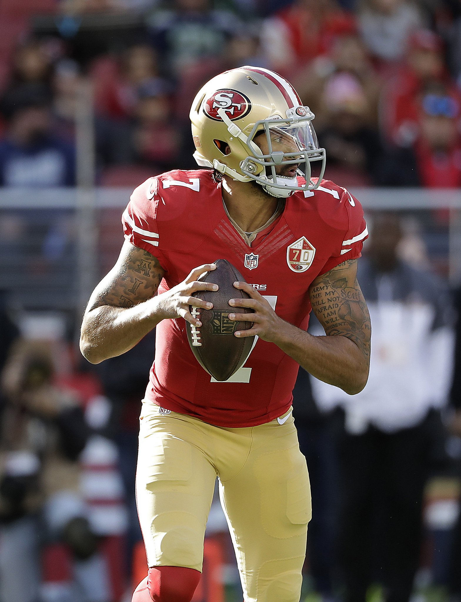 Report 49ers qb colin kaepernick will become free agent sfgate