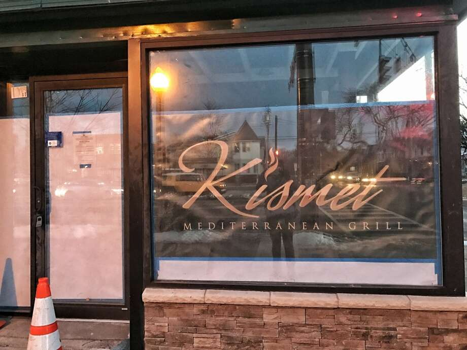 Table Hopping reader A.N. spotted the development of Kismet Mediterranean Grill at 1116 Madison Ave. in Albany.  Photo: Courtesy Of A.N.