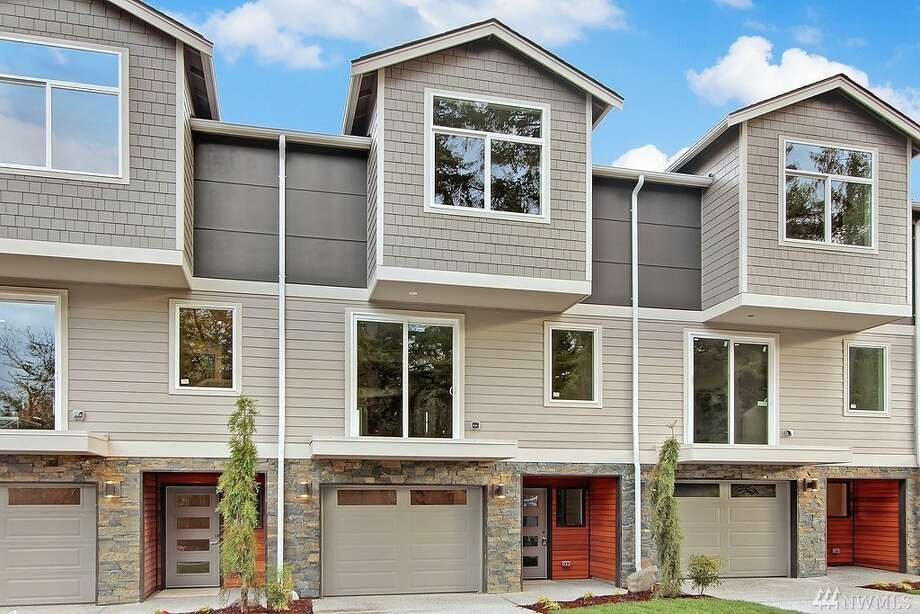 The first home, at 7915 229th Pl.S.W., Unit C, is listed for$485,950. The four-bedroom, three-bathroom home was built in 2016.There will be a showing for this home Saturday, Feb. 4 from noon to 3 p.m. You can see the full listing here. Photo: Listing Courtesy Adam Cobb, Windermere Real Estate GH LLC