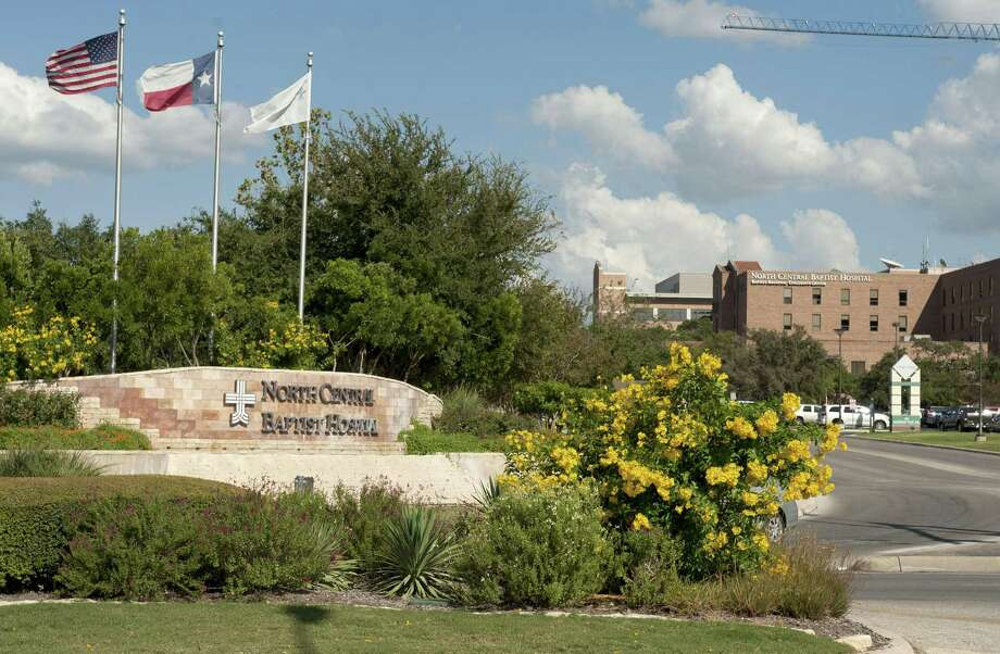 A median on Stone Oak Parkway at Madison Oak Drive is seen near the entrance to North Central Baptist Hospital, Monday, Sept. 24, 2012, in San Antonio. (Darren Abate/Special to the Express-News) Photo: Darren Abate, Freelancer / For The Express-News / San Antonio Express-News