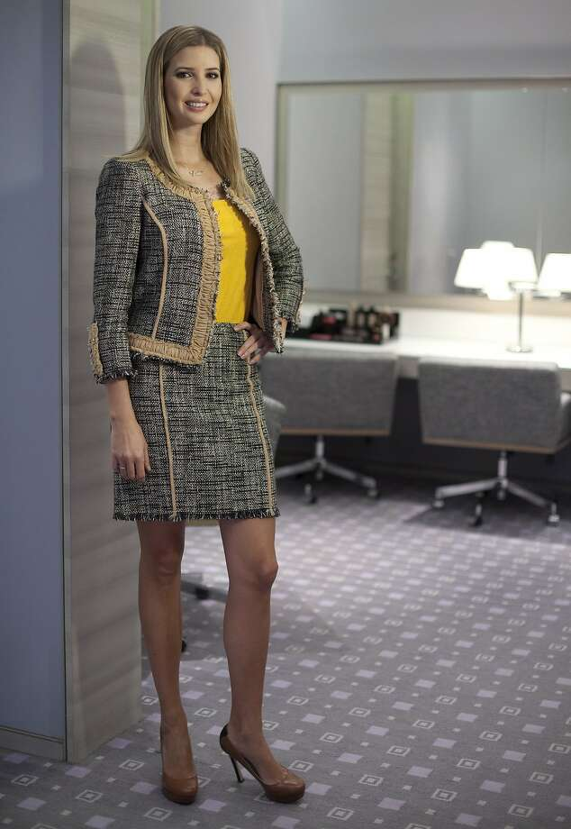 FILE - In this March 6, 2015 file photo, Ivanka Trump models an outfit following an interview to promote her clothing line in Toronto. Nordstrom said Thursday, Feb. 2, 2017,  it will stop selling Ivanka Trump clothing and accessories. The Seattle-based department store chain said the decision was based on the sales performance of the first daughter's brand. (Pawel Dwulit/The Canadian Press via AP) Photo: Pawel Dwulit, Associated Press