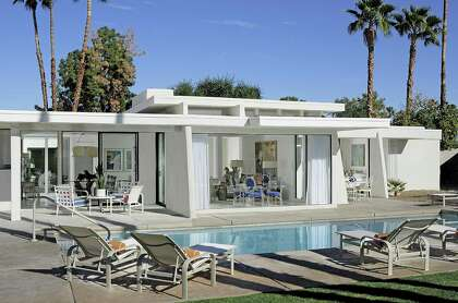 Couple Turn Rundown Palm Springs Digs Into Sunny Swingin