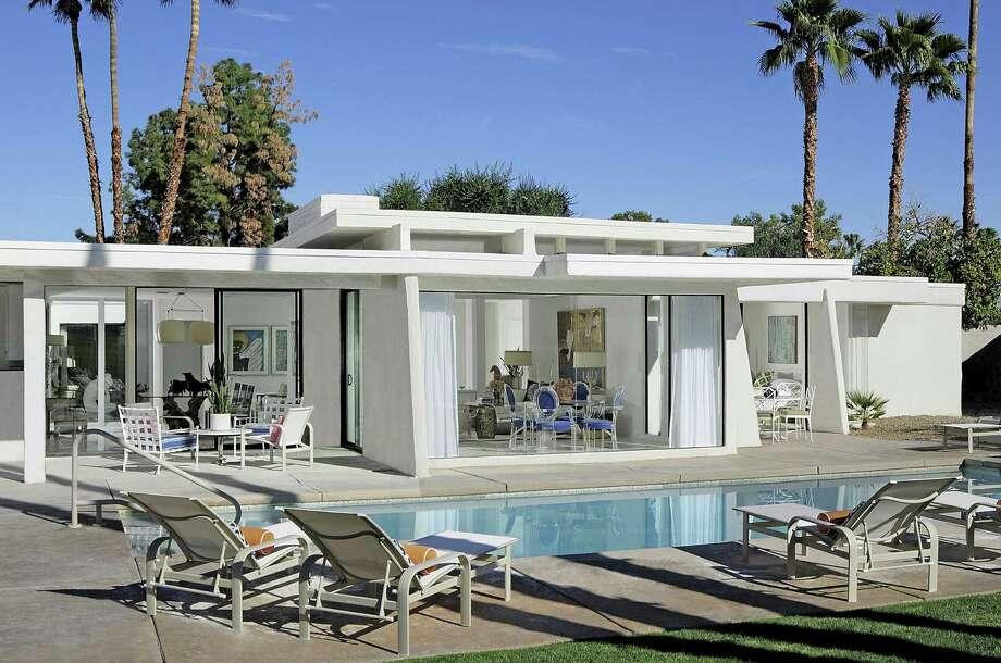 Couple Turn Rundown Palm Springs Digs Into Sunny Swingin