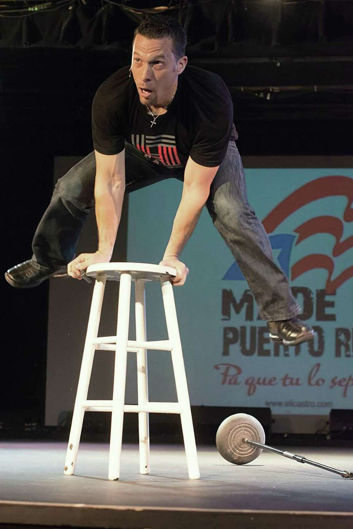 """Former Orlando, Fla., prosecutor-turned-stand-up comedian Elizardi """"Eli"""" Castro brings his """"Law & DISorder"""" show to the Klein Memorial Auditorium on Saturday, Feb. 11."""