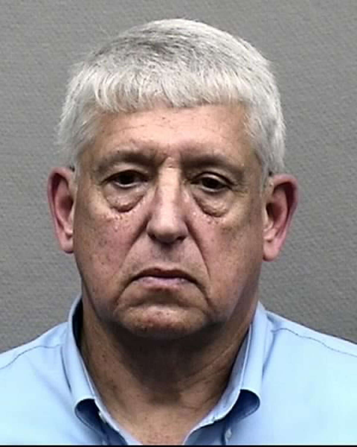 A Houston Police Department mugshot shows Emile Fair, 63, on Feb. 3, 2017. Fair was charged with misdemeanor prostitution.