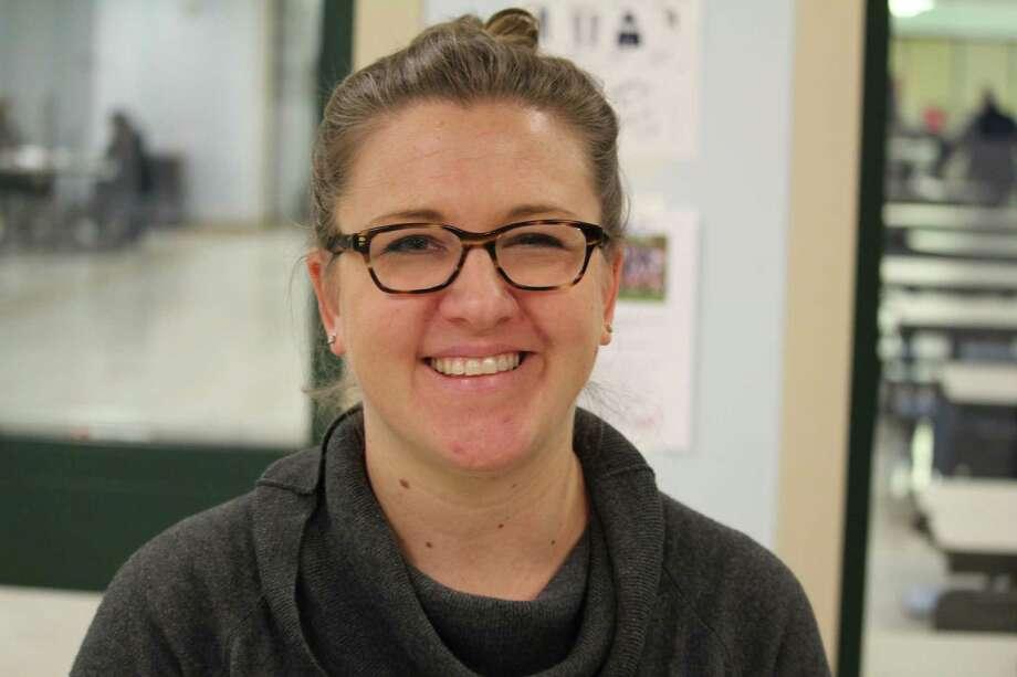"Cathy Schager Staples High School ""Different"" Photo: Chris Marquette / Hearst Connecticut Media / Westport News"