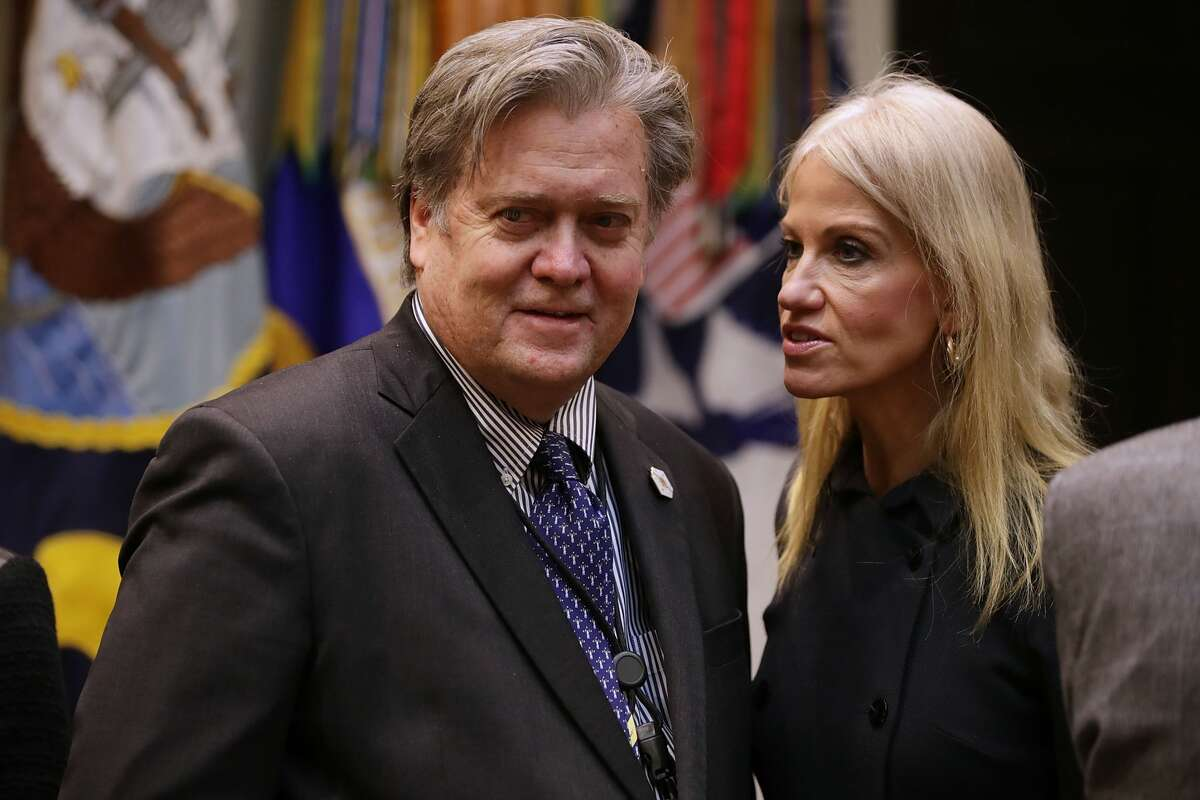 He was the head honcho for the Trump campaign On August 17, 2016, Bannon left Breitbart News to become Chief Executive of Donald Trump's campaign.