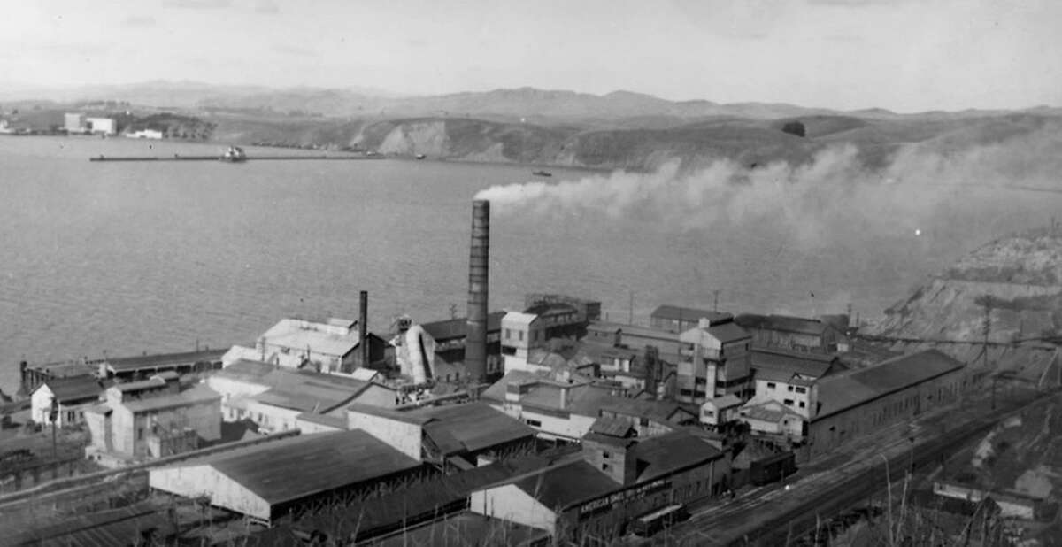Gold ore from Canada to Mexico was shipped to the Selby smelting plant west of where the Carquinez Bridge now stands.
