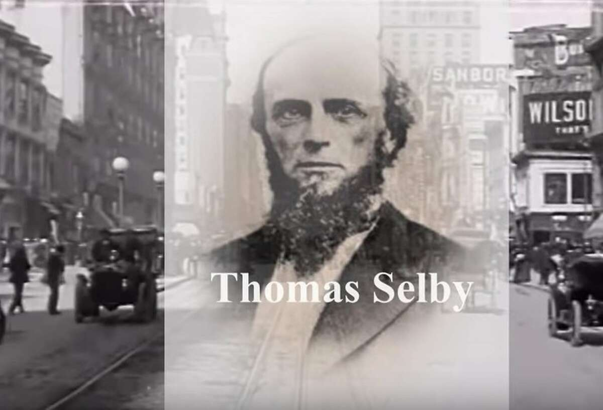 Thomas Selby, founder of the Selby smelting operation in Contra Costa County between Crockett and Rodeo, had his headquarters in San Francisco.