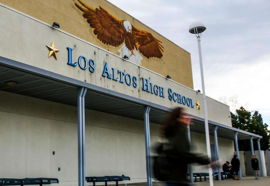 Los Altos High School, seen Feb. 1. Photo: Gabrielle Lurie, The Chronicle