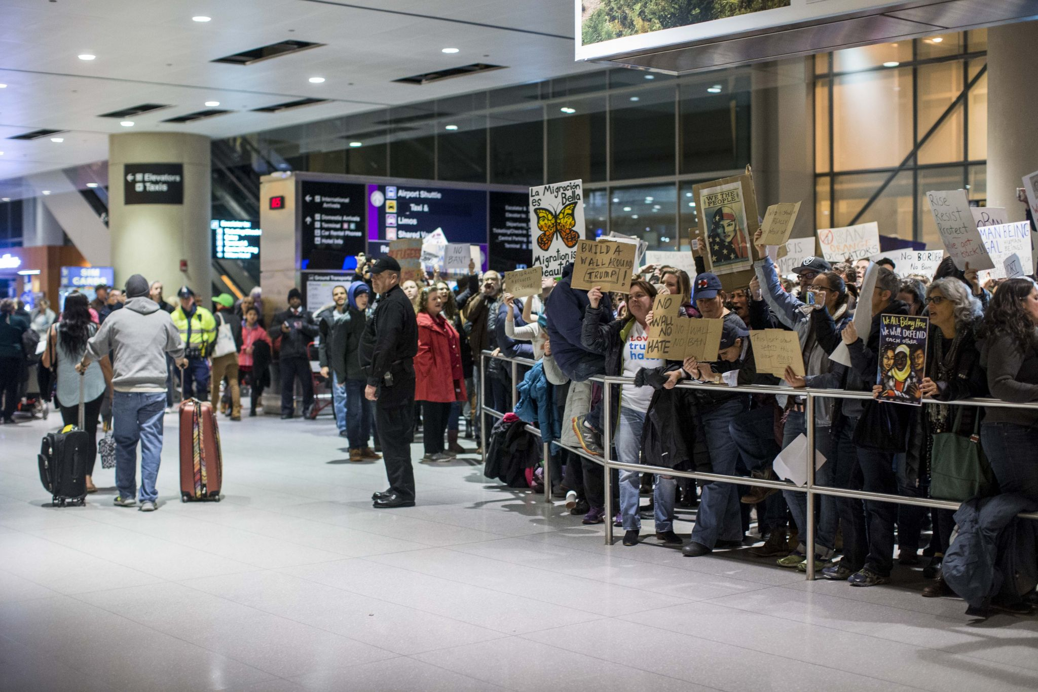 Trump lashes out at federal judge who temporarily blocked travel ban