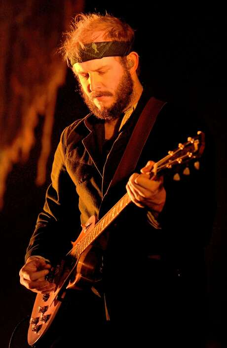 MANCHESTER, ENGLAND - NOVEMBER 09:  Justin Vernon of Bon Iver performs at Manchester Arena on November 9, 2012 in Manchester, England.  (Photo by Shirlaine Forrest/WireImage)