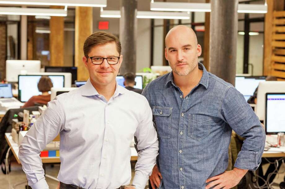 Michael Duda and Brent Vartan, co-managing partners of Bullish, a strategic creative and consumer investment firm, which has offices in Greenwich, Ct. Photo: Contributed Photo / Kristin Duda