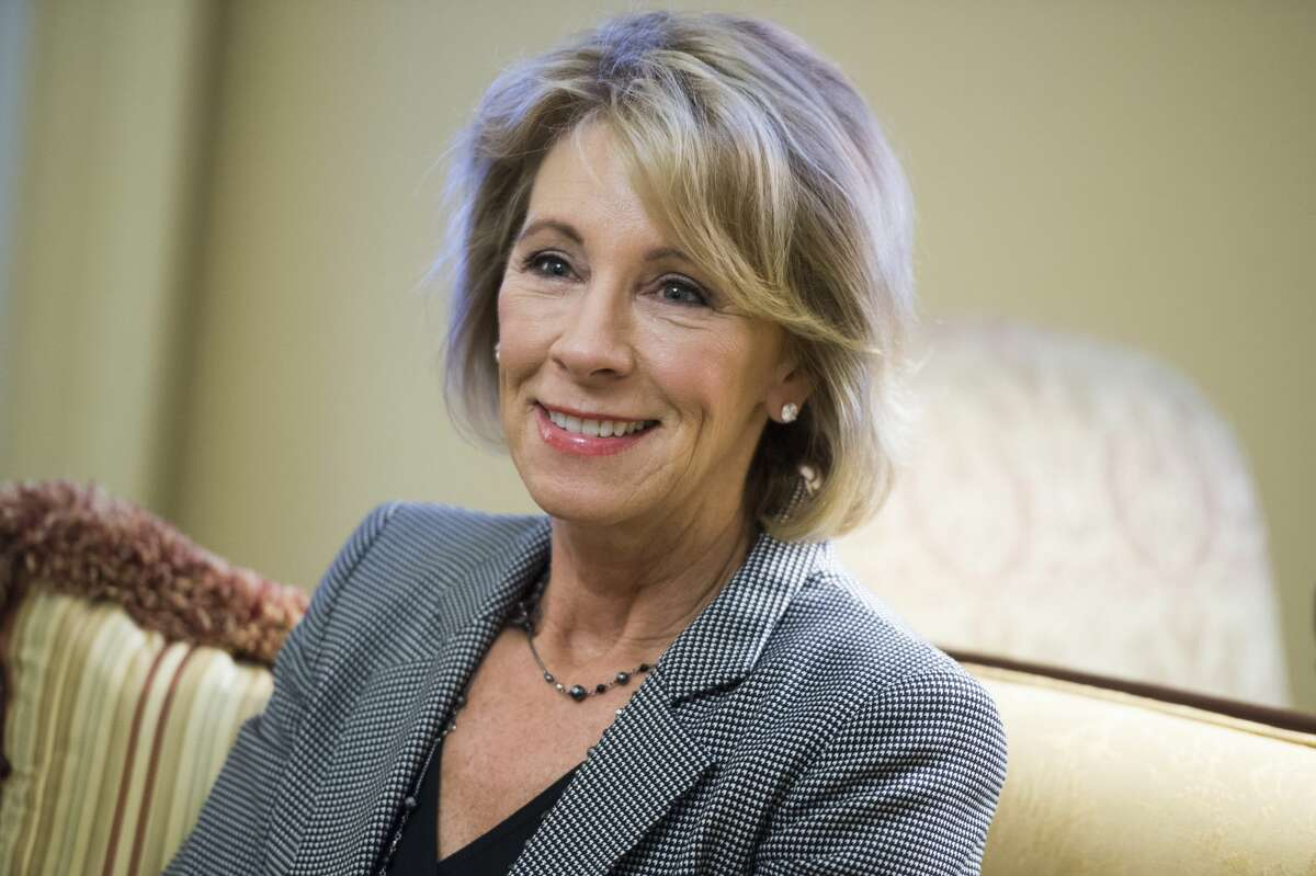 Her family is among the richest in the world Richard DeVos and the DeVos family have a net worth of $5.3 billion, placing them at number 308 in Forbes' billionaire list. DeVos is the daughter-in-law of billionaire Amway co-founderRichard DeVos. Source: Forbes