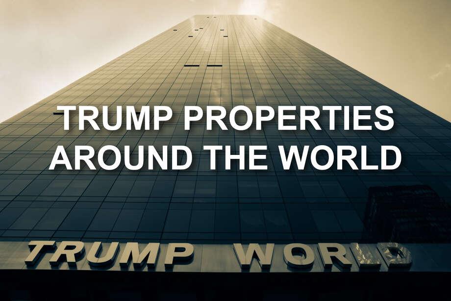 Trump Properties Around The World San Antonio Express News