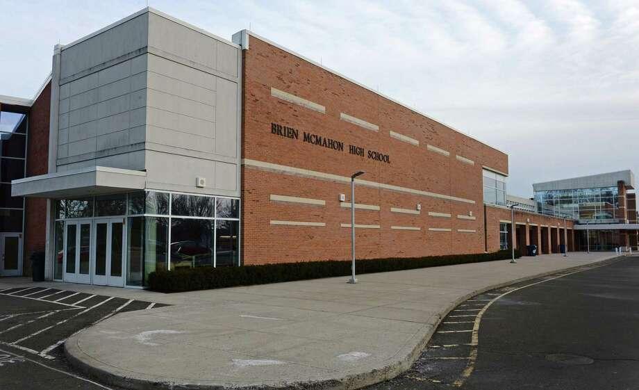 Brien McMahon High School in Norwalk. Photo: Erik Trautmann / Hearst Connecticut Media / Norwalk Hour