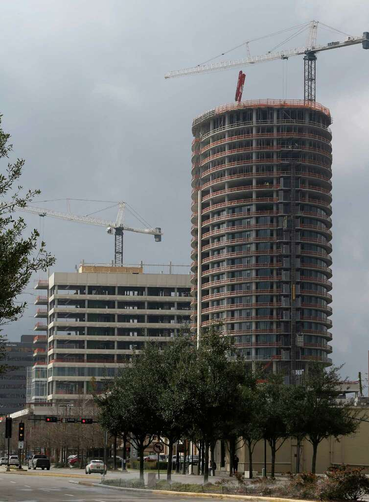 Well-rounded tower taking shape in Upper Kirby - Houston Chronicle