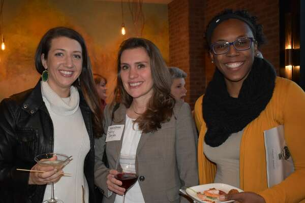 Were you Seen at the Women@Work event Food For Though Book Launch at Black and Blue Steak & Crab Restaurant on Thursday, Feb. 2, 2017? Not a member? Join here! Timesunion.com  /womenatworkjoin/