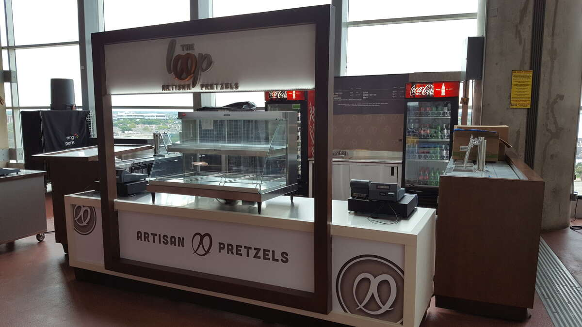 Aramark hired Colorado-based Gallery Carts to design new concession stands for premium food offerings.