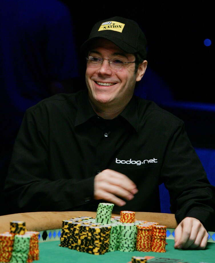 LAS VEGAS - AUGUST 08:  Jamie Gold of California smiles after amassing over 30 million in chips to lead the field of players in the World Series of Poker no-limit Texas Hold 'em main event at the Rio Hotel & Casino August 8, 2006 in Las Vegas, Nevada. The main event, which began with more than 8,700 players on July 28, will be narrowed to nine players today. They will compete for the top prize of USD 12 million on the final table, which begins August 10.  (Photo by Ethan Miller/Getty Images) *** Local Caption *** Jamie Gold Photo: Ethan Miller, Getty Images / 2006 Getty Images