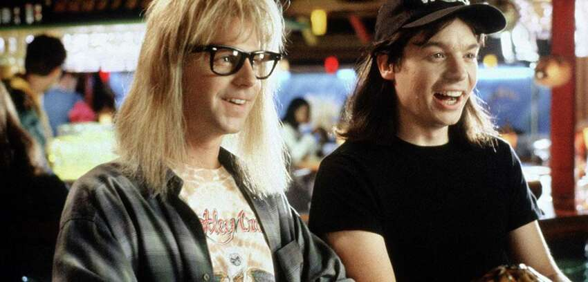 Party on, Wayne. Party on, Garth. Brought back for a 25th anniversary celebration,