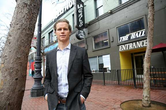 Founder and managing principal of Tidewater Capital developer Craig Young outside of 1028 Market St. on Friday, February 3, 2017, in San Francisco, Calif. 1028 Market St. will become a mixed-use project including 186 rental units and almost 10,000 sq. ft. of ground floor retail space.