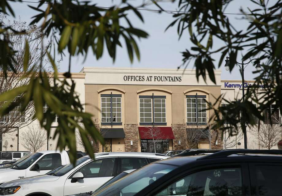 An office building at a shopping center in Roseville (Placer County) where FamilyTreeNow.com was operating until a few months ago. The genealogy website has faced recent criticism for the amount of personal information that it provides online. Photo: Paul Chinn, The Chronicle