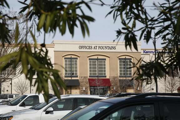 An office building at a shopping center is seen in Roseville, Calif. on Tuesday, Jan. 17, 2017 where website familytreenow.com was operating up until a few months ago. The genealogy website has faced recent criticism for the amount of personal information that it provides online.