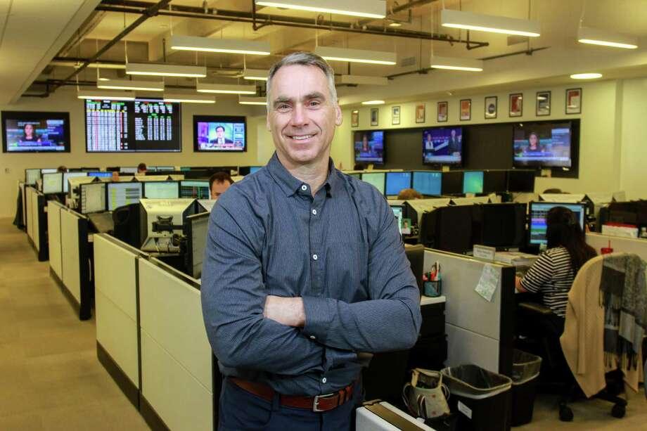Dynegy CEO Bob Flexon on the Dynegy Trading Floor. (For the Chronicle/Gary Fountain, April 15, 2016) Photo: Gary Fountain, For The Chronicle / Copyright 2016 Gary Fountain