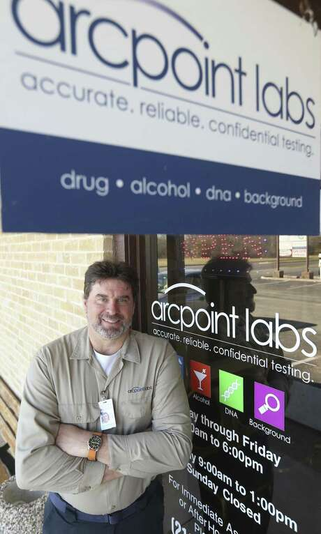 Mark Hudson poses outside his business, ARCpoint Labs on the city's Southeast Side. Among the many services ARCpoint Labs offers is employment and pre-employ ment drug testing. Photo: William Luther /San Antonio Express-News / © 2017 San Antonio Express-News