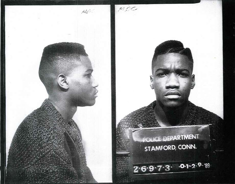 Christopher Williams in his 1989 arrest photoin Stamford. After he was convicted of manslaughter, Williams, who is now 44, spent 26 years on the run before being apprehended in Philadelphia last month. Photo: Contributed / Contributed Photo / Stamford Advocate  contributed