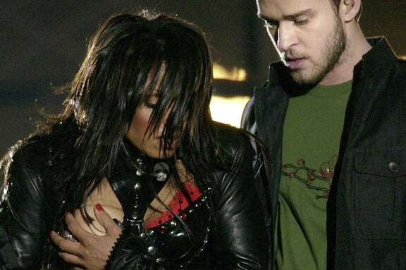 The last Super Bowl that Houston hosted in 2004 is memorable for Janet Jackson and Justin Timberlake's halftime performance - and the wardrobe malfunction.