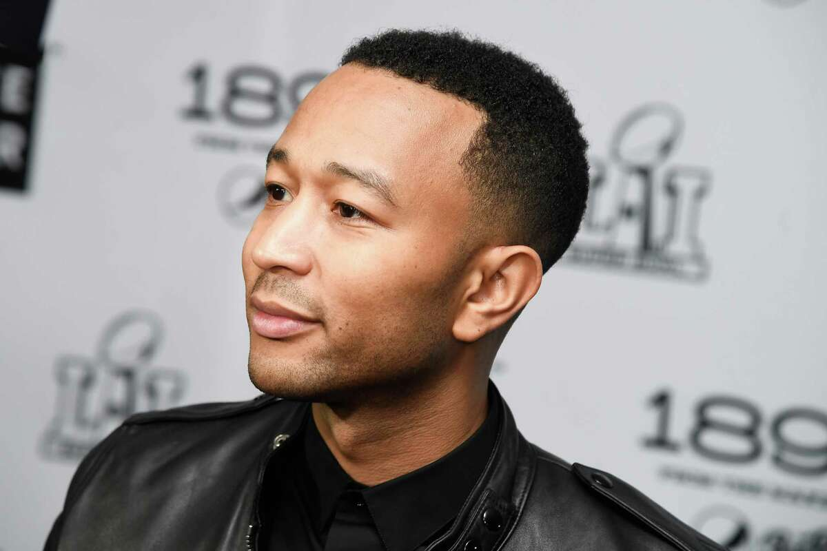 Recording artist John Legend attends LIFEWTR: Art After Dark at Club Nomadic during Super Bowl LI Weekend on February 3, 2017 in Houston, Texas.