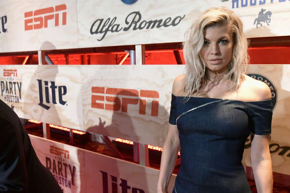HOUSTON, TX - FEBRUARY 03: Recording Artist Fergie attends the 13th Annual ESPN The Party on February 3, 2017 in Houston, Texas. (Photo by Gustavo Caballero/Getty Images for ESPN)
