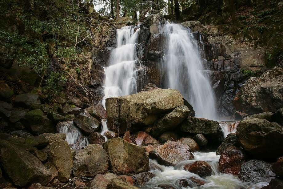 Linda Falls in Angwin (Napa County). Photo: Gabrielle Lurie, The Chronicle