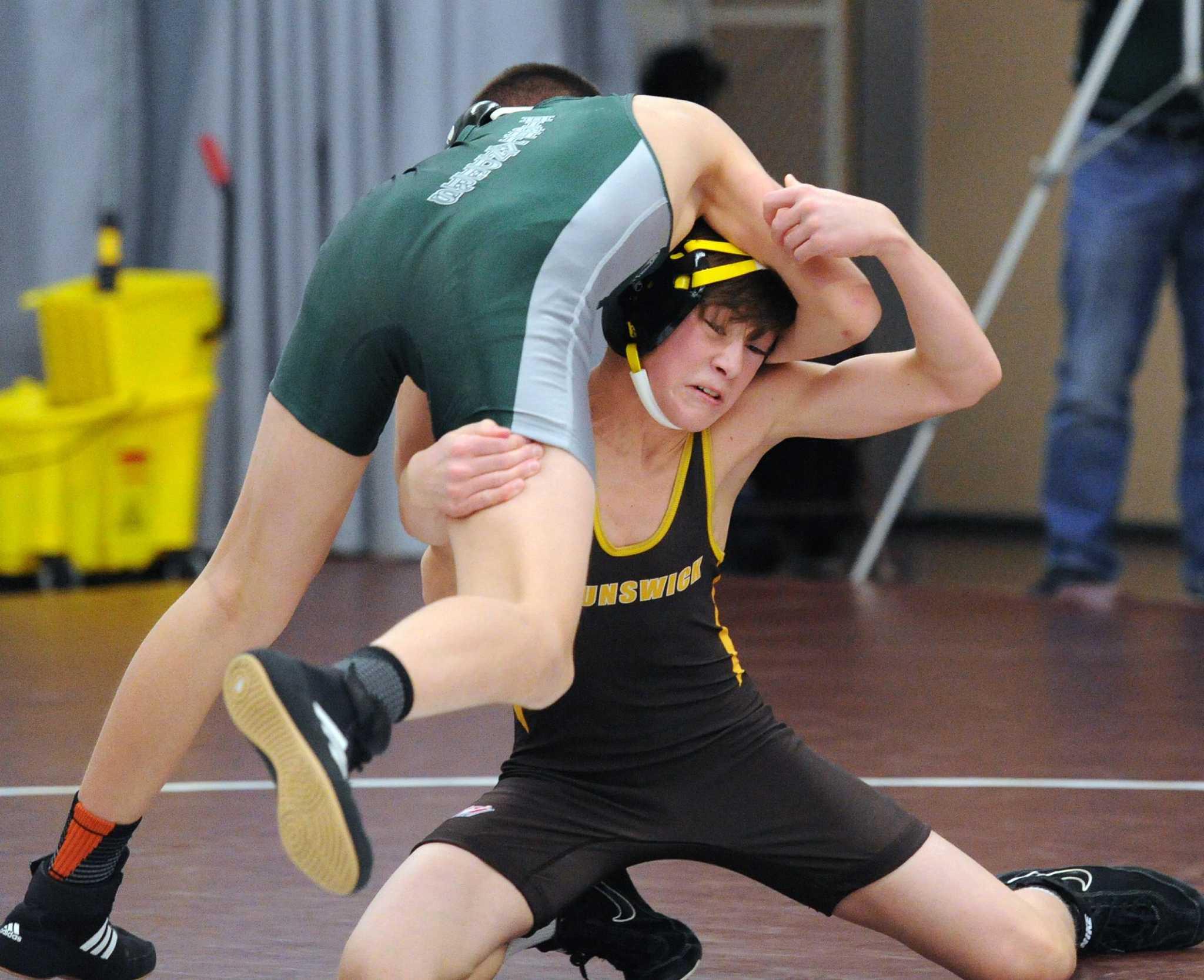 brunswick wrestling team defeats chase collegiate greenwichtime