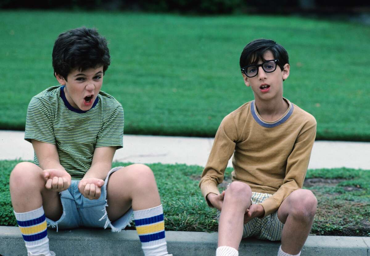 1988: Fred Savage (left) played the main character, Kevin Arnold.