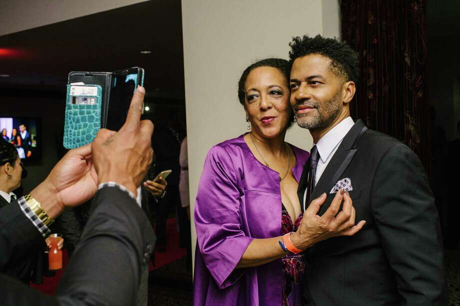 """Singer Eric Benet poses for a photo at the """"Just The Truth"""" Super Bowl Extravaganza, benefiting local HIV/AIDS charities at Hotel ZaZa on Friday, Feb. 3, 2017.  Photo: Thomas Campbell / Thomas Campbell"""