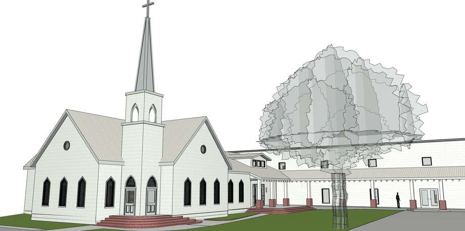 Living Savior Lutheran Church at 309 Pond Street in the Historic District of Montgomery is planning a $1.6 million expansion. Photo: Submitted Art
