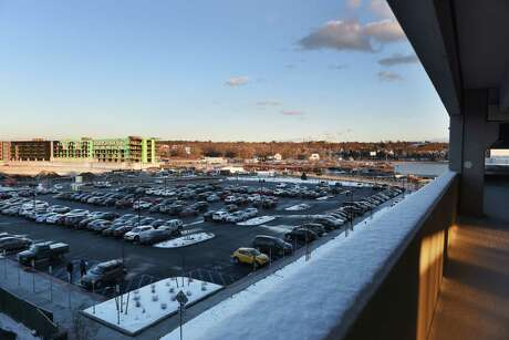 Eastern parking lot at Rivers Casino & Resort Schenectady at sunset on Wednesday, Feb. 1, 2017, in Schenectady, N.Y.  (Will Waldron/Times Union) Photo: Will Waldron / 20039576A