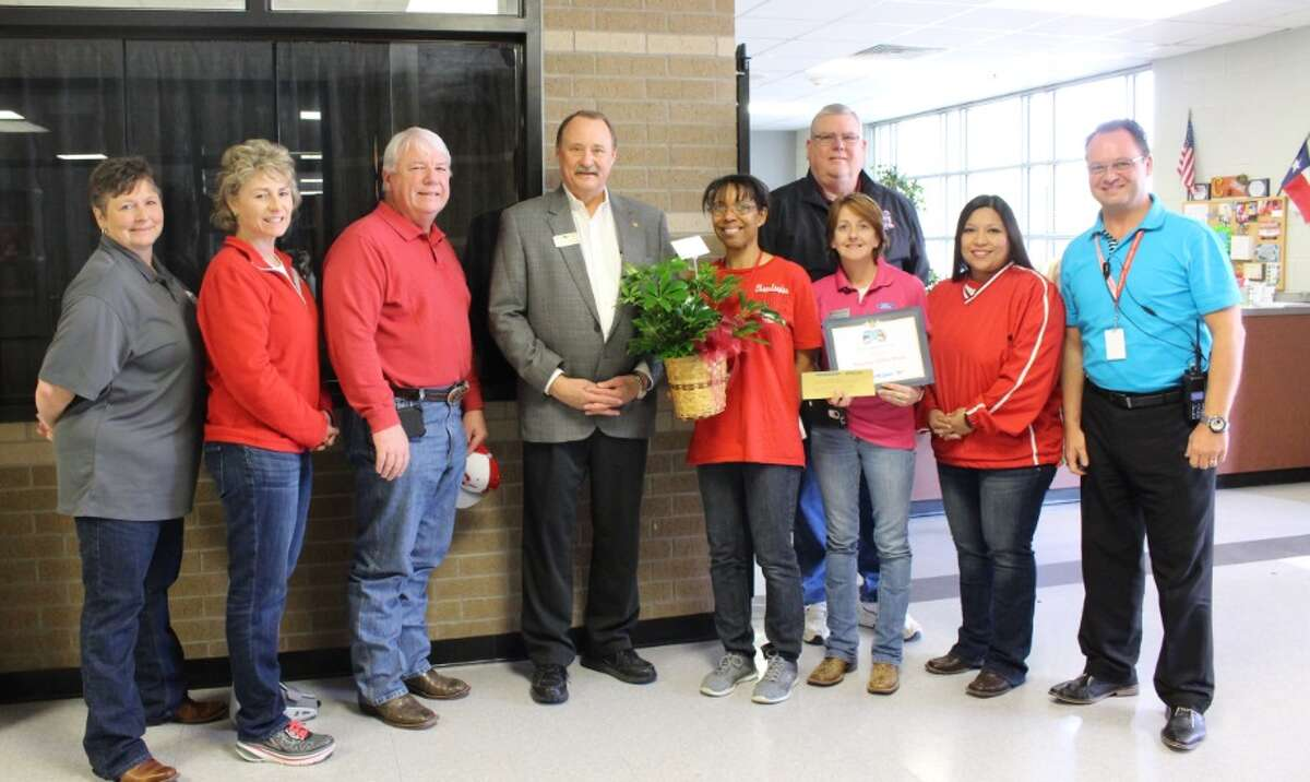 Gina Ford is the Cleveland ISD teacher of the week. Ford has worked for the school district for a decade. She is a Life Skills teacher at Cleveland High School and cheer sponsor for the junior varsity squad. The contest is sponsored by KORG 95.3 FM manager Jeff McClain, Anderson Quick Lane Tire and Auto, Chef's House and Easy Street Florist.