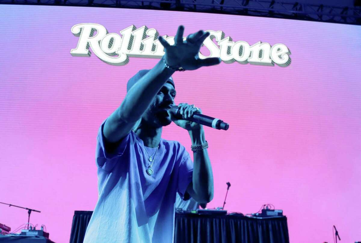 HOUSTON, TX - FEBRUARY 04: Rapper Big Sean performs at the Rolling Stone Live: Houston presented by Budweiser and Mercedes-Benz on February 4, 2017 in Houston, Texas. Produced in partnership with Talent Resources Sports.