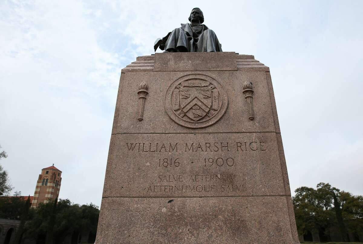 Cleanup begins It appears that the swastika that was drawn on Rice University's William Marsh Rice statue has been removed on Sunday, February 5, in Houston. The university moved immediately to clean up the graffiti.