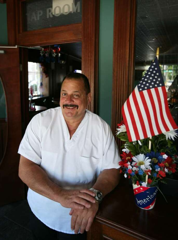 Angus Steakhouse owner Joe DiBartolomeo whose restaurant is celebrating 60 years of business in Fairfield. Photo: Brian A. Pounds / Connecticut Post