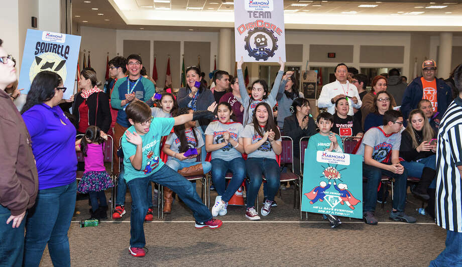 LISD and UISD students participate in the Robotics League Championships on Saturday, February 4, 2017 at the TAMIU Student Center. Photo: Danny Zaragoza/Laredo Morning Times